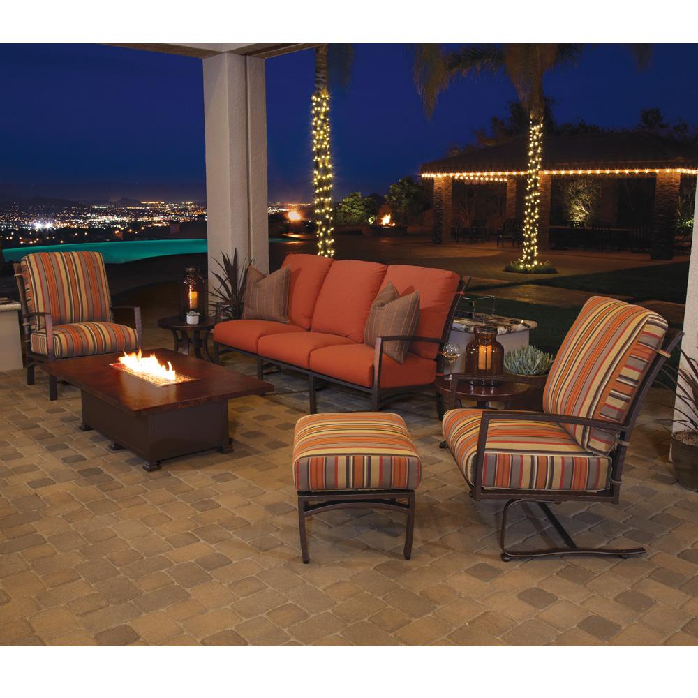 Ow Lee Sol Swivel Rocker Lounge Chair 48115 Sr