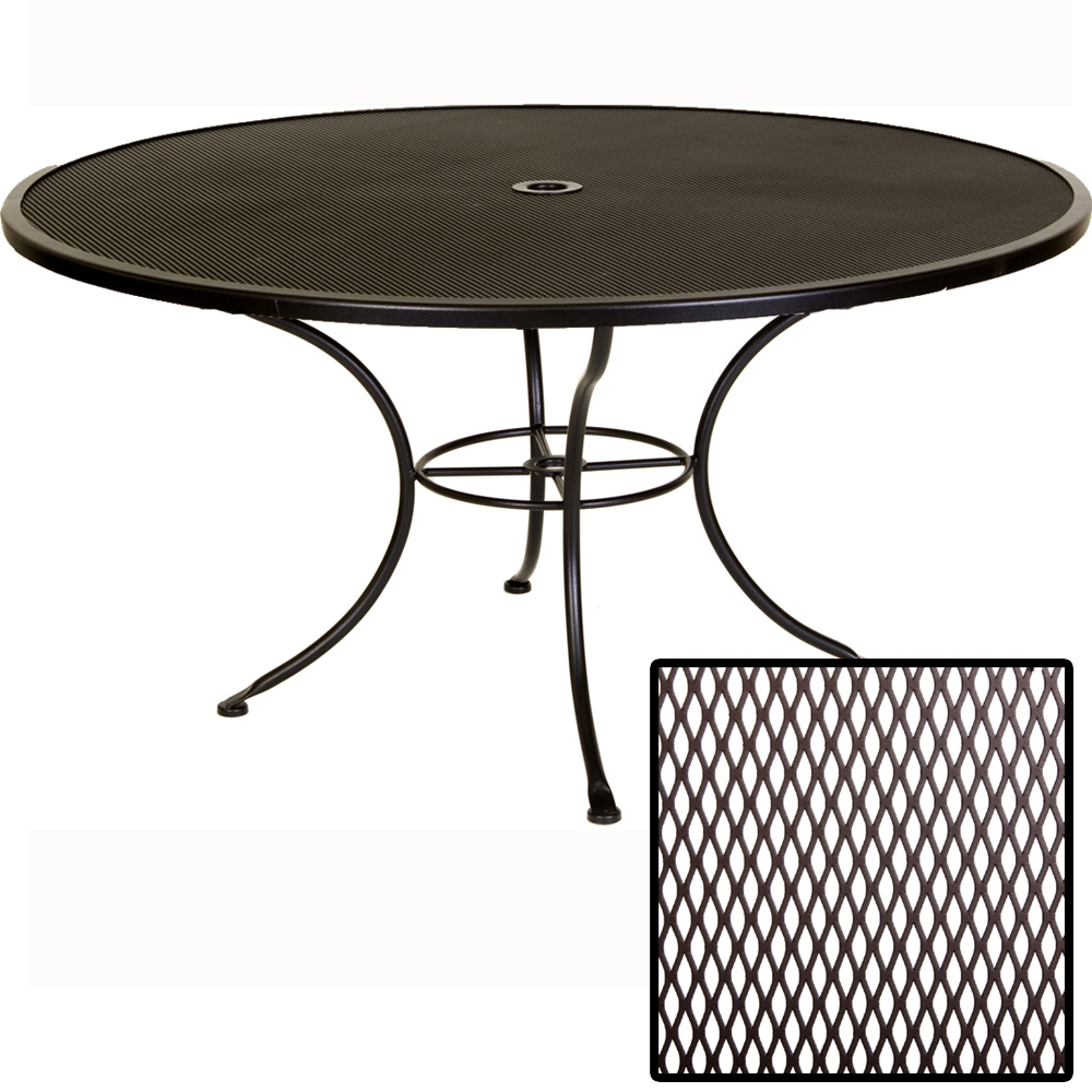 OW Lee Standard Mesh 60 inch round Dining Table 60 MU : 60 mu from www.usaoutdoorfurniture.com size 575 x 575 jpeg 147kB