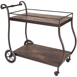 OW Lee St Charles Tea Cart - 26-PTC