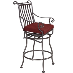 OW Lee St. Charles Swivel Bar Stool - 2653-SBS
