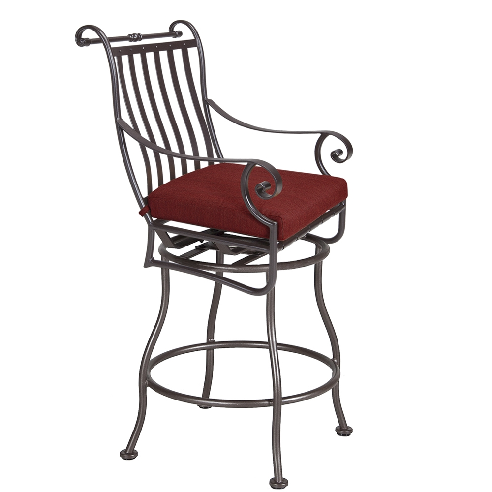 OW Lee St. Charles Swivel Counter Stool - 2653-SCS
