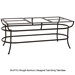 Expanding Porcelain Tile Top Dining Table - P42116-U-DT10