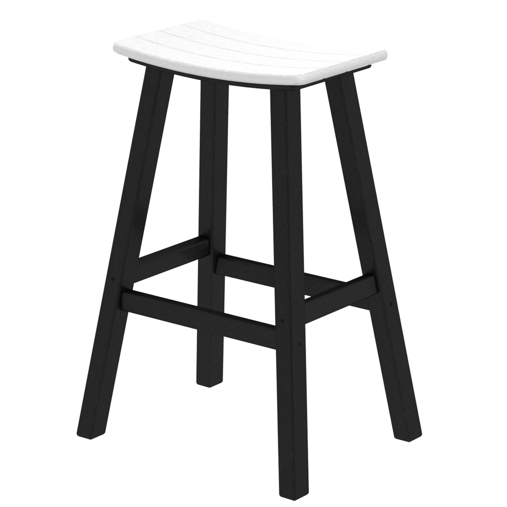 POLYWOOD174 Contempo 30 inch Tall Saddle Bar Stool PW 2012 : 2012 from www.usaoutdoorfurniture.com size 1000 x 1000 jpeg 145kB