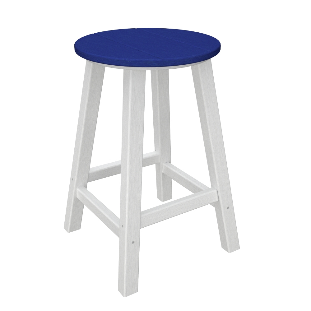 polywood contempo 24 inch tall counter stool