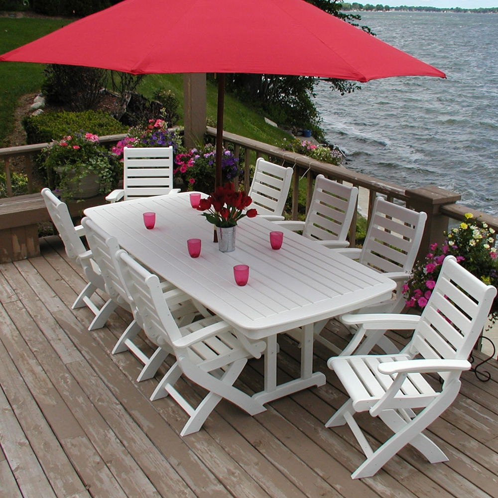 ... Nautical 44 Inch By 96 Inch Dining Table   NCT4496 ...