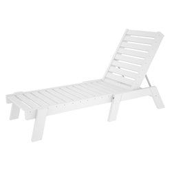 PolyWood Captain Armless Chaise - CH7826-1