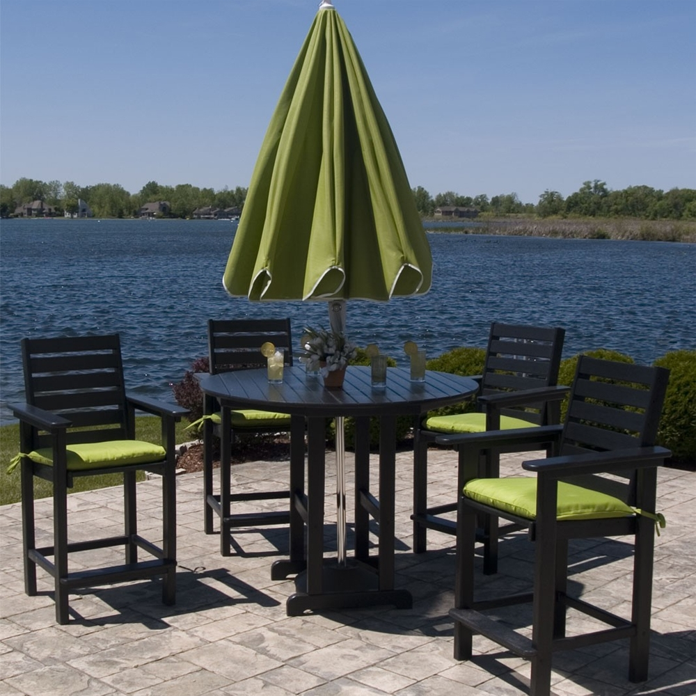 POLYWOOD174 48 inch Round Counter Table RRT248 : pw captain set3 from www.usaoutdoorfurniture.com size 1000 x 1000 jpeg 567kB