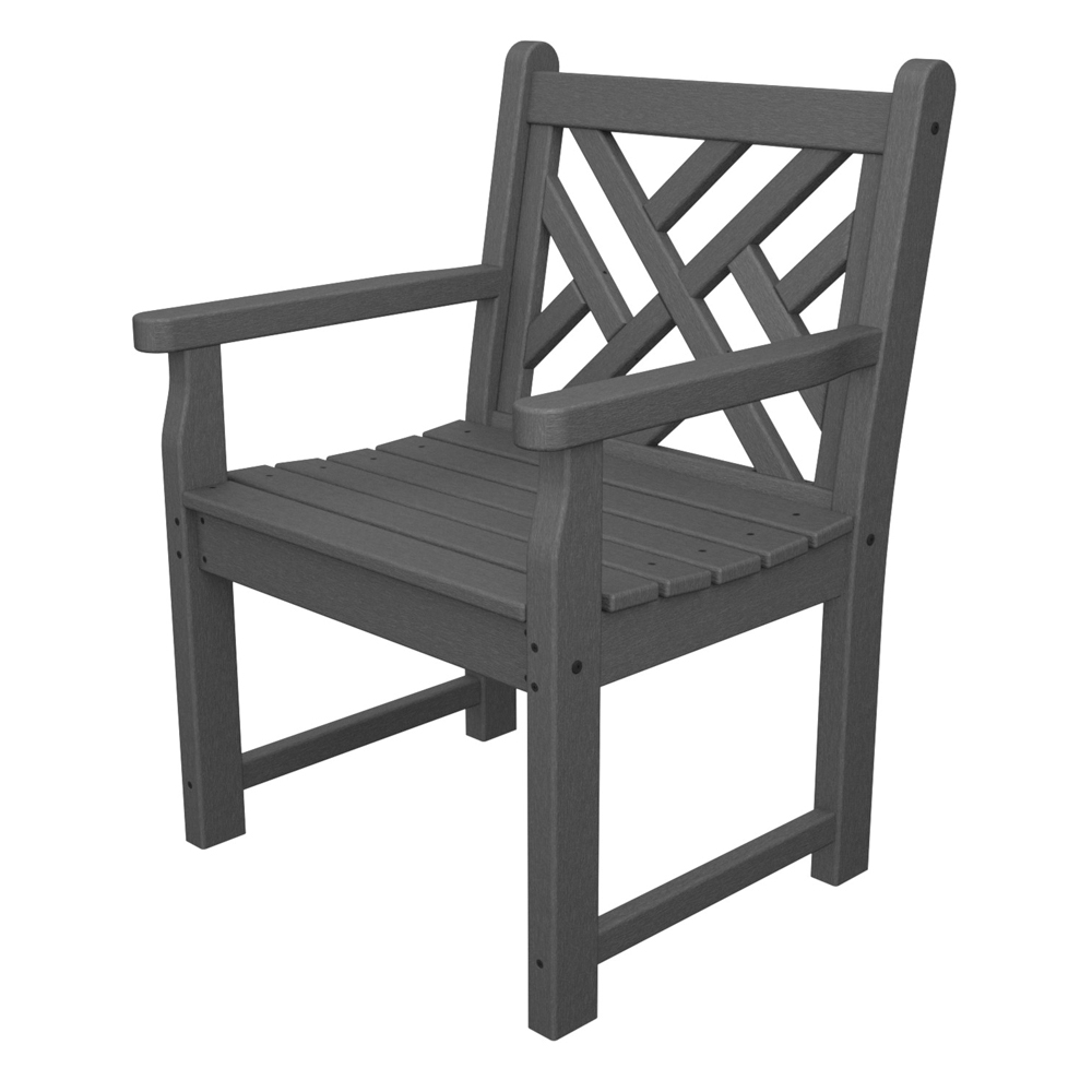PolyWood Chippendale Garden Arm Chair - CDB24