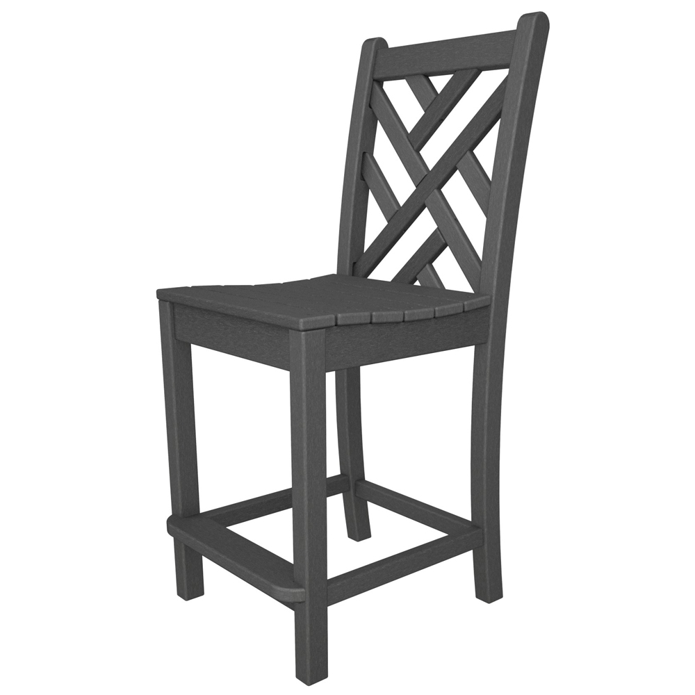 polywood chippendale counter height side chair cdd101