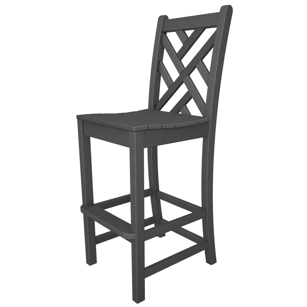 PolyWood Chippendale Bar Height Side Chair   CDD102 ...