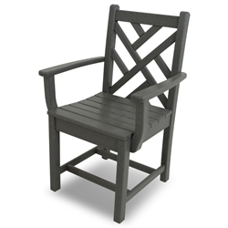 PolyWood Chippendale Dining Arm Chair - CDD300