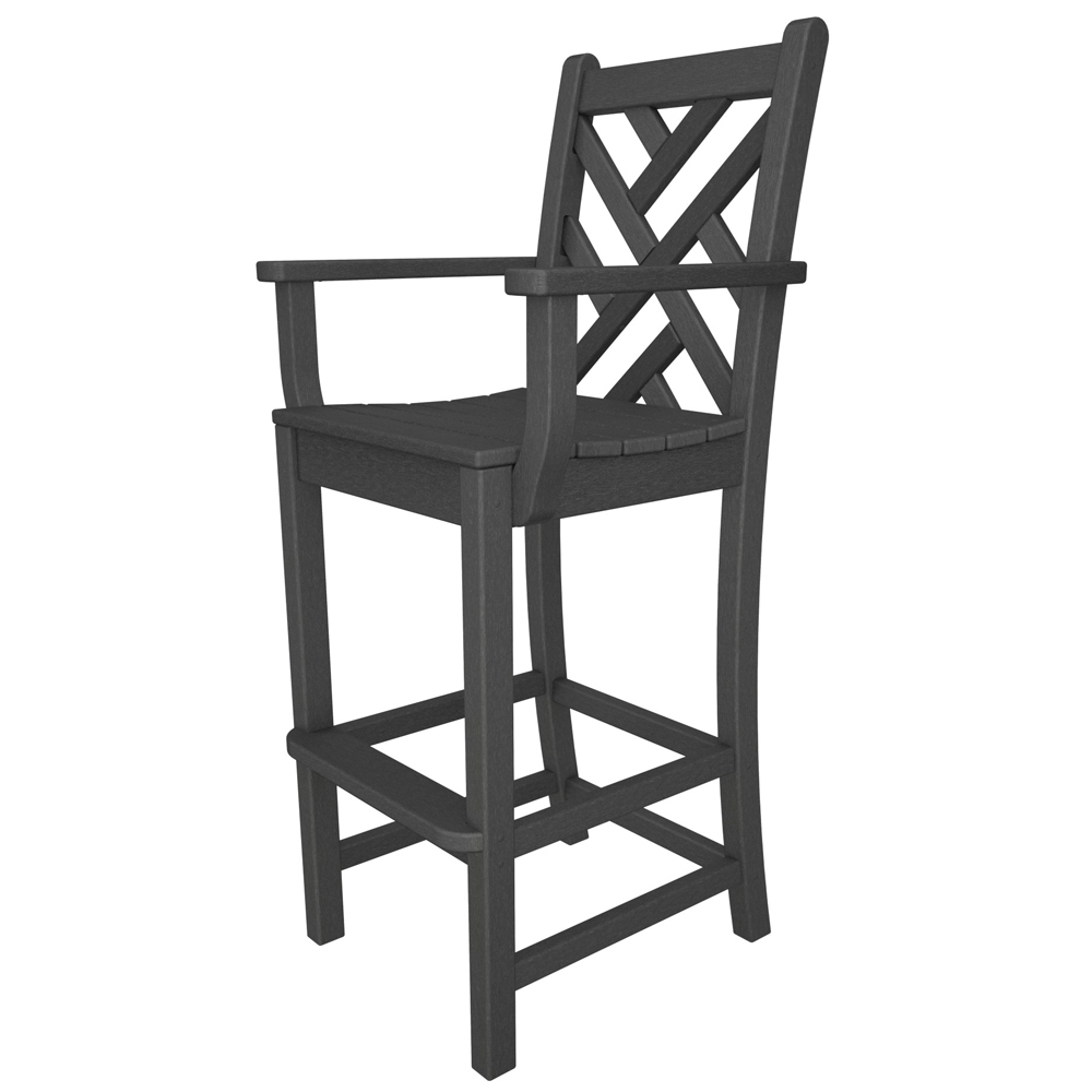 PolyWood Chippendale Bar Arm Chair - CDD202