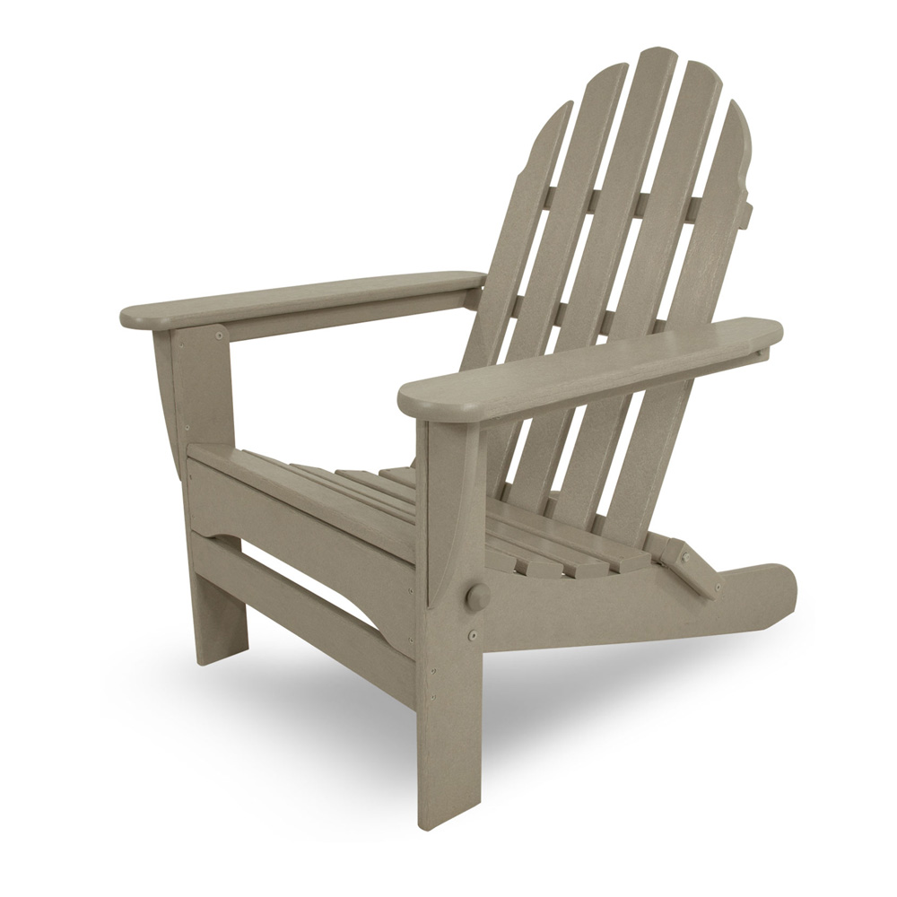 Awesome PolyWood Classic Folding Adirondack Chair   AD5030 ...