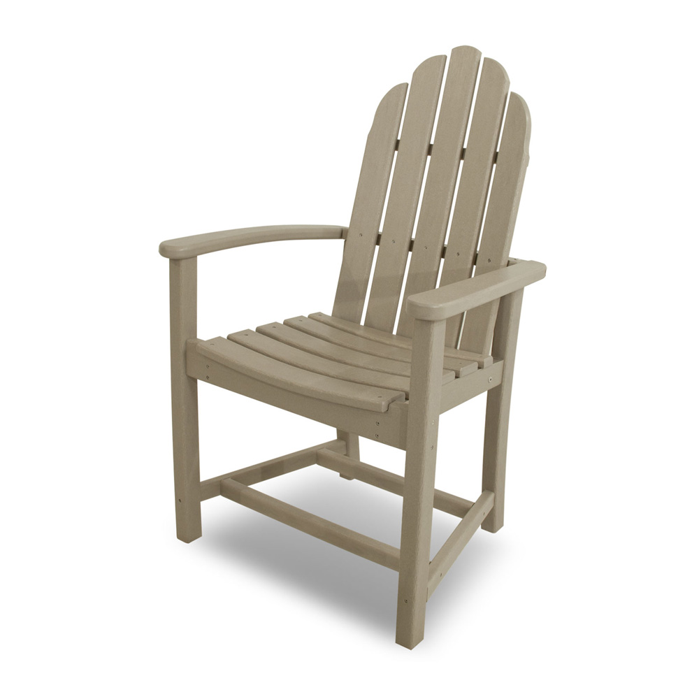 PolyWood Classic Adirondack Dining Chair - ADD200