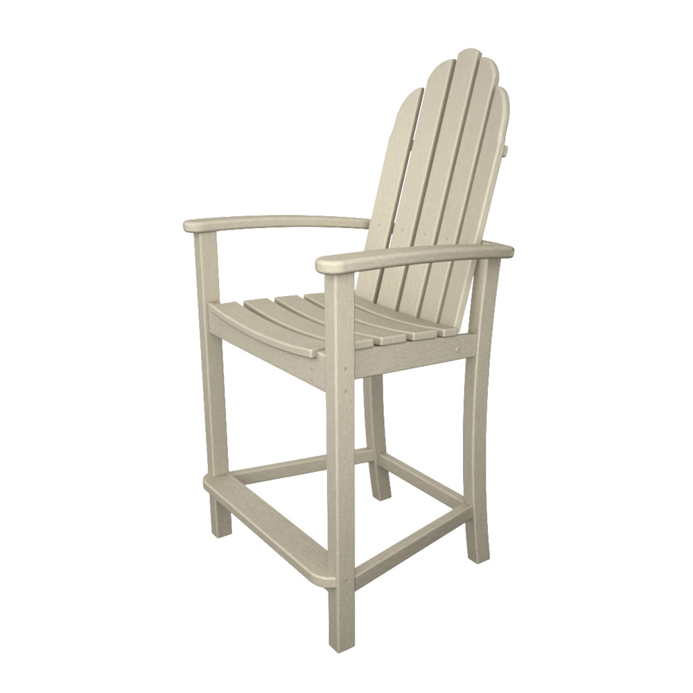 PolyWood Classic Adirondack Counter Chair - ADD201