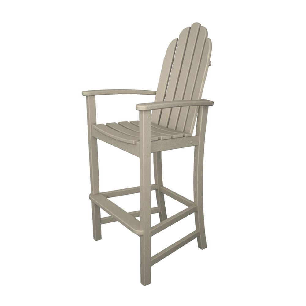 Polywood 174 Classic Adirondack 3 Piece Folding Chair Set