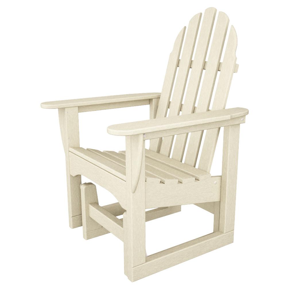 PolyWood Classic Adirondack Glider Chair   ADSGL 1