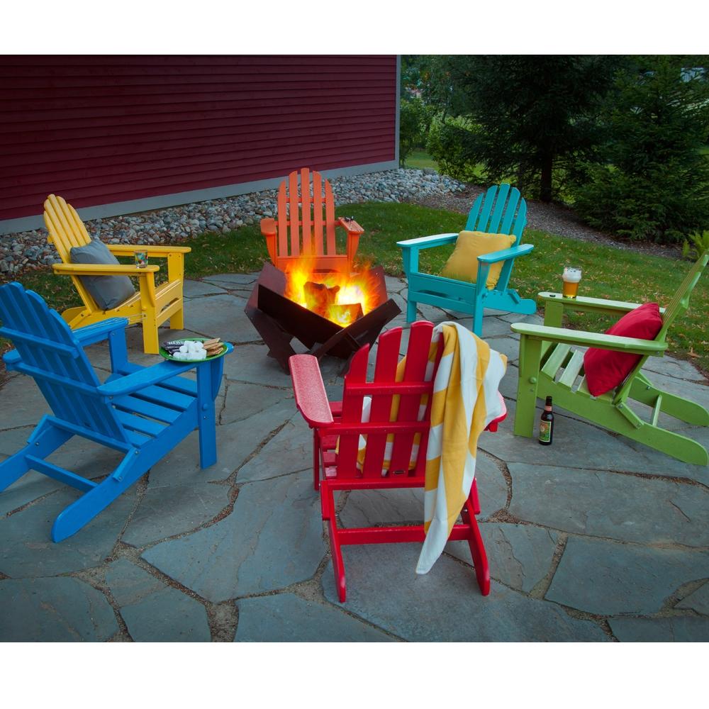 POLYWOOD Classic Folding Adirondack Chair AD5030