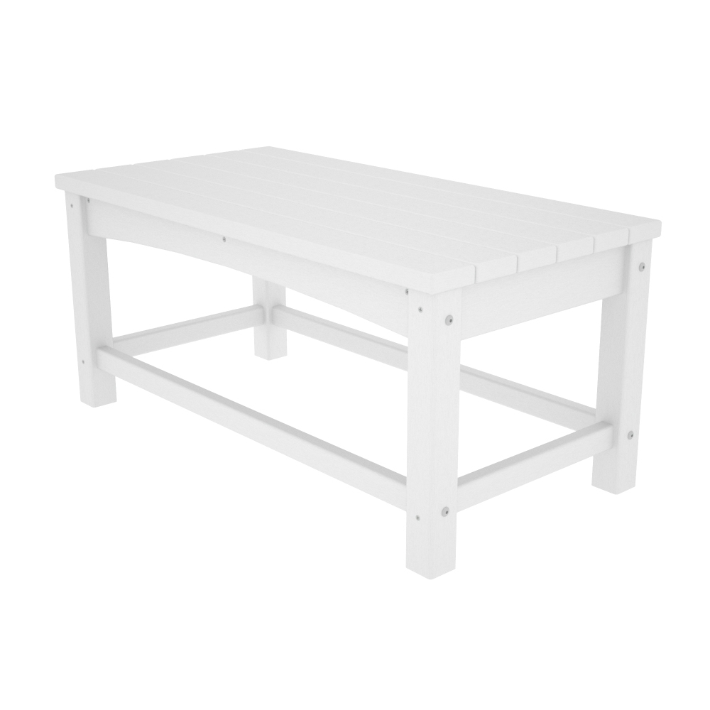 polywood club rectangle coffee table clt1836
