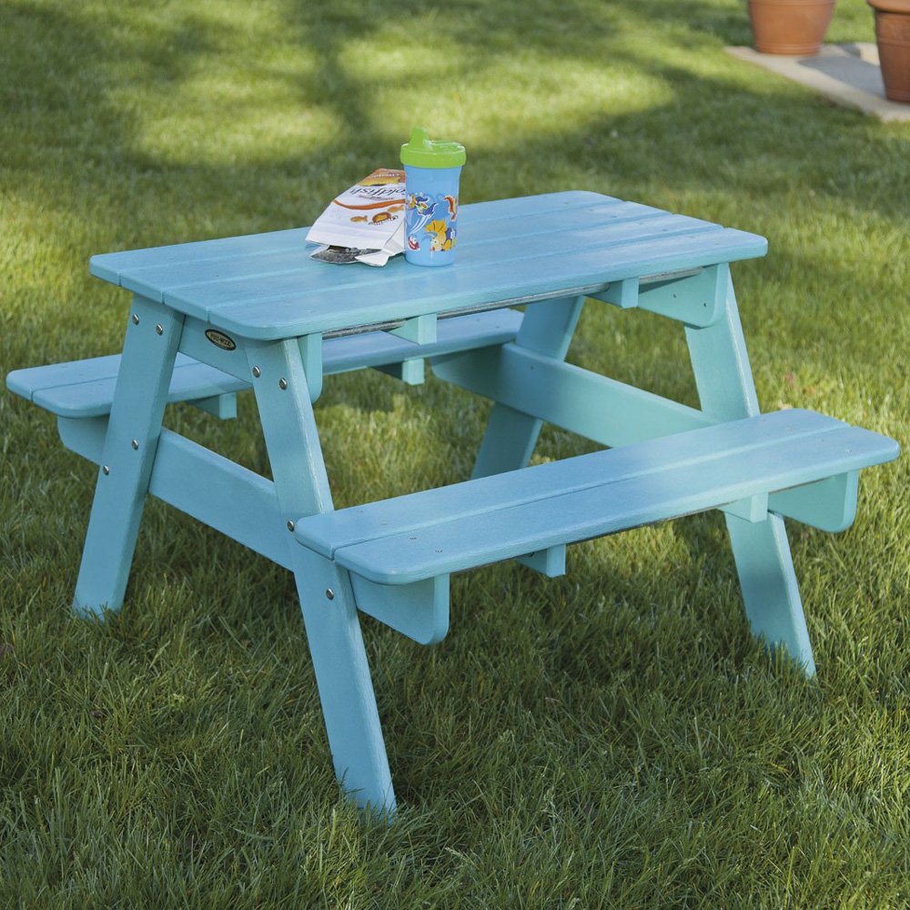 Polywood 174 Toddler Outdoor Picnic Table Kt130