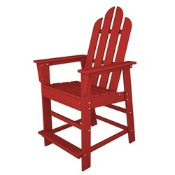 PolyWood Long Island Counter Chair - ECD24