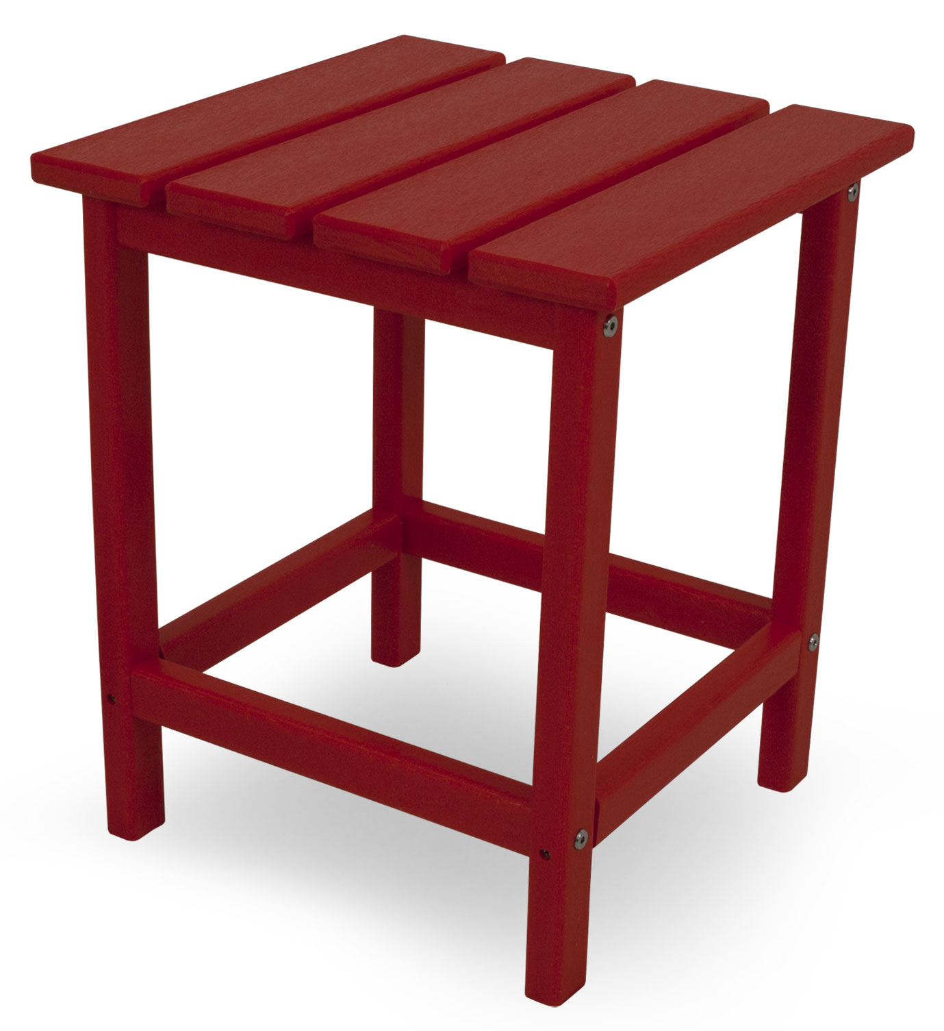 PolyWood Long Island 15 inch Square Side Table - ECT18