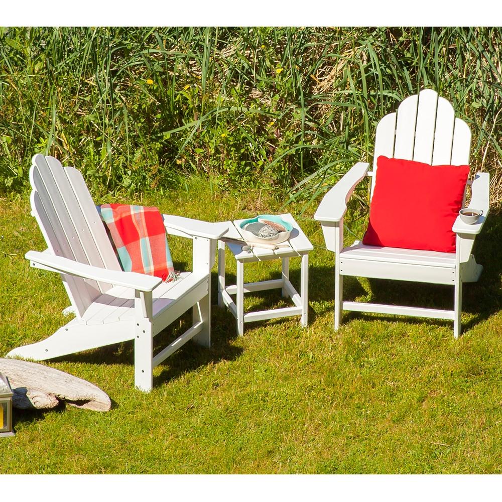 Patio Furniture In Long Island: POLYWOOD® Classic Adirondack 3 Piece Folding Chair Set