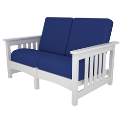 PolyWood Mission Settee - CMC47