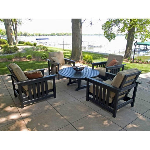 Polywood Patio Furniture Sale: POLYWOOD® Mission Chat Set