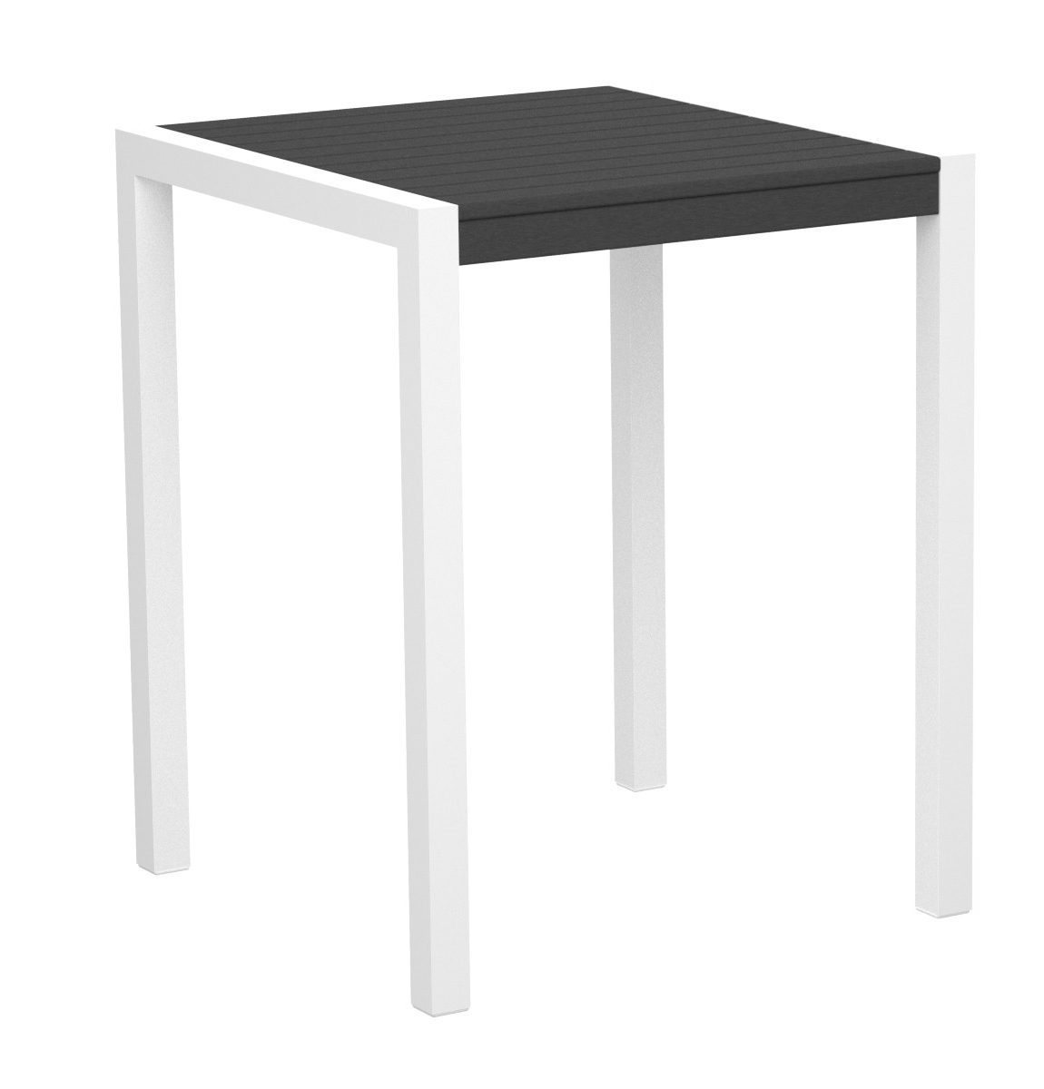 PolyWood MOD 30 inch Square Counter Table - 8001