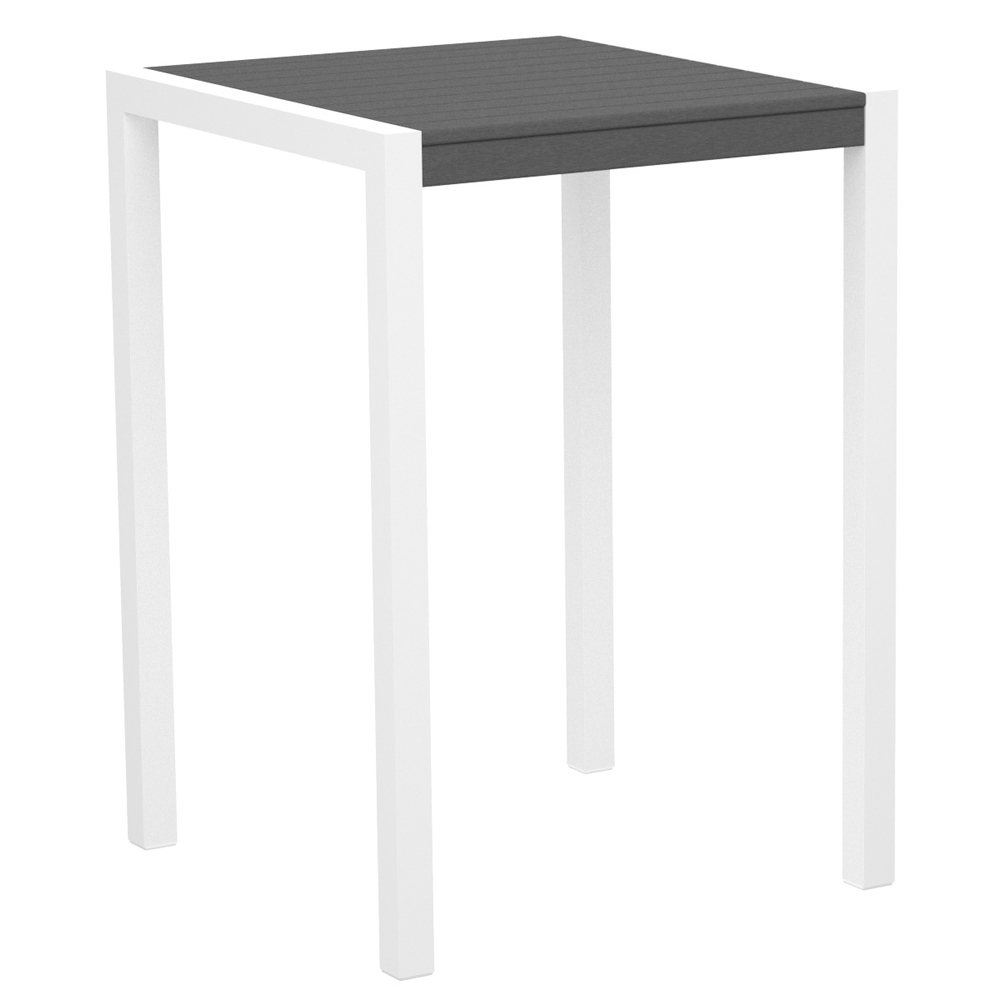 Polywood 174 Mod 30 Inch Square Bar Table Pw 8002