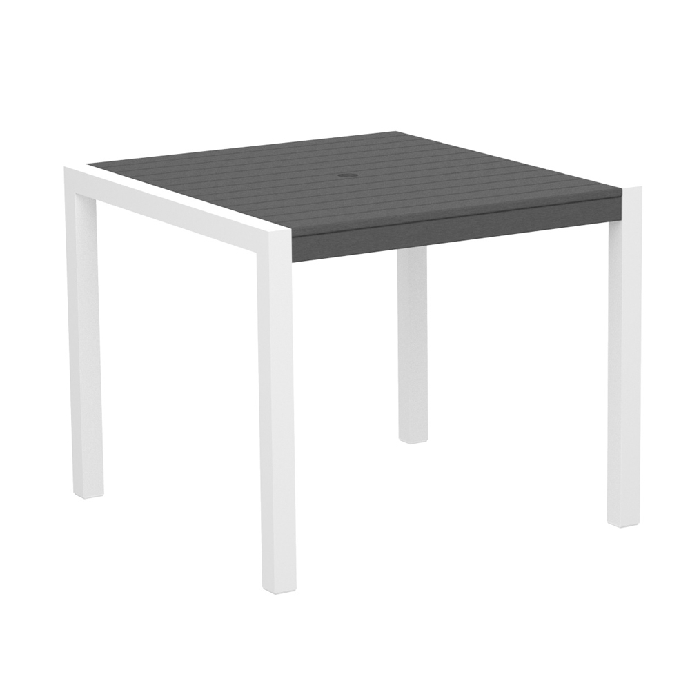 PolyWood MOD 36 Inch Square Dining Table   8100