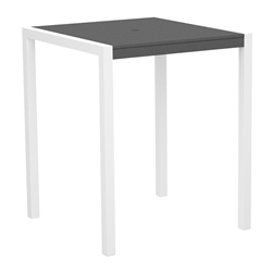 PolyWood MOD 36 inch Square Bar Table - 8102