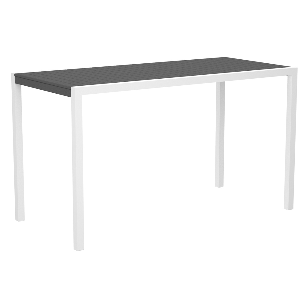 Polywood 174 Mod Rectangle Bar Table Pw 8302