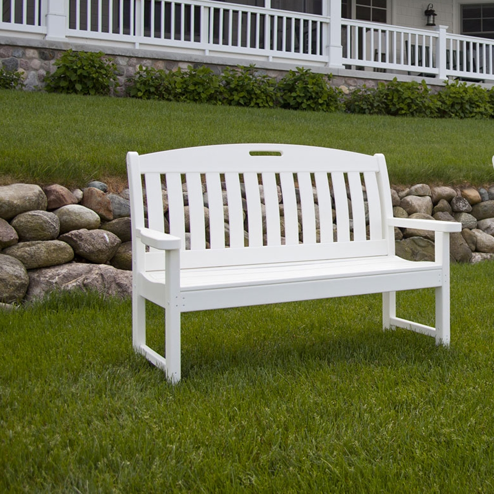 Polywood Nautical 60 Inch Long Bench Nb60