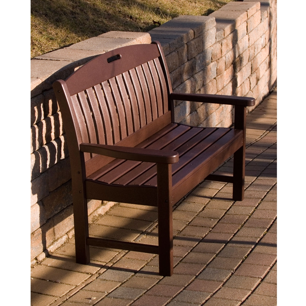 Polywood 174 Nautical 48 Inch Long Bench Nb48