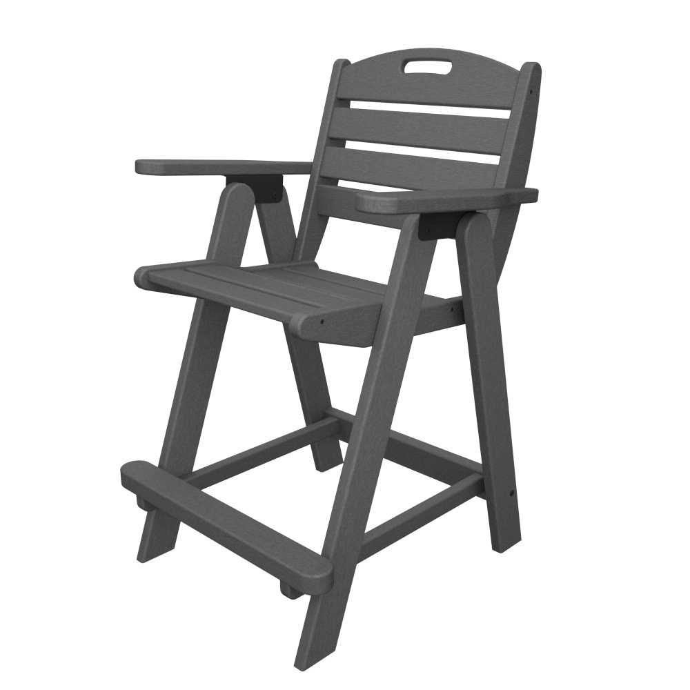 PolyWood Nautical Counter Height Chair - NCB40
