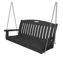 PolyWood Nautical Patio Swing - NS48