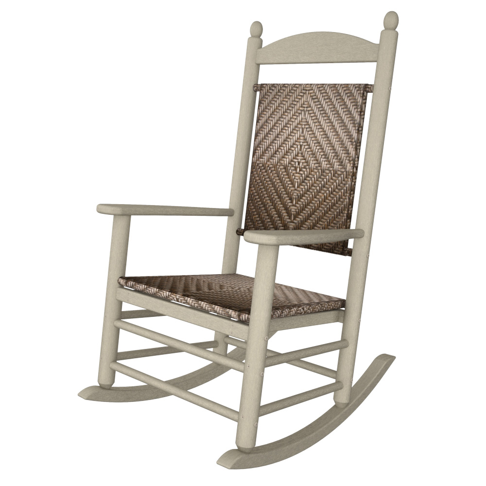 Outdoor Patio Furniture Under 200: POLYWOOD® Presidential Woven Rocker