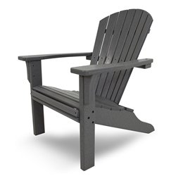 PolyWood Seashell Adirondack Chair - SH22