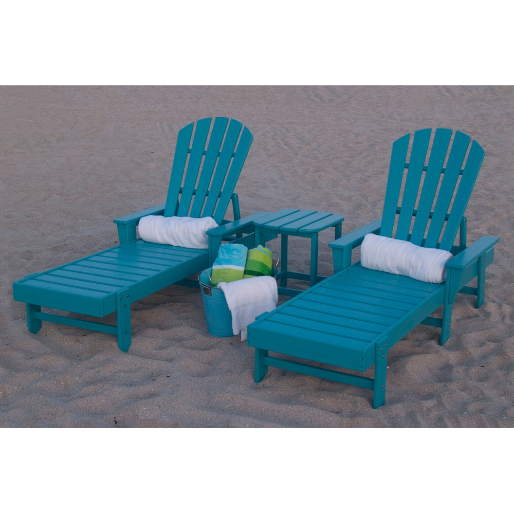 Polywood 174 South Beach Chaise Set Pw Southbeach Set4