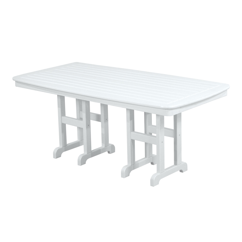 PolyWood Nautical 37 Inch By 72 Inch Dining Table   NCT3772 ...