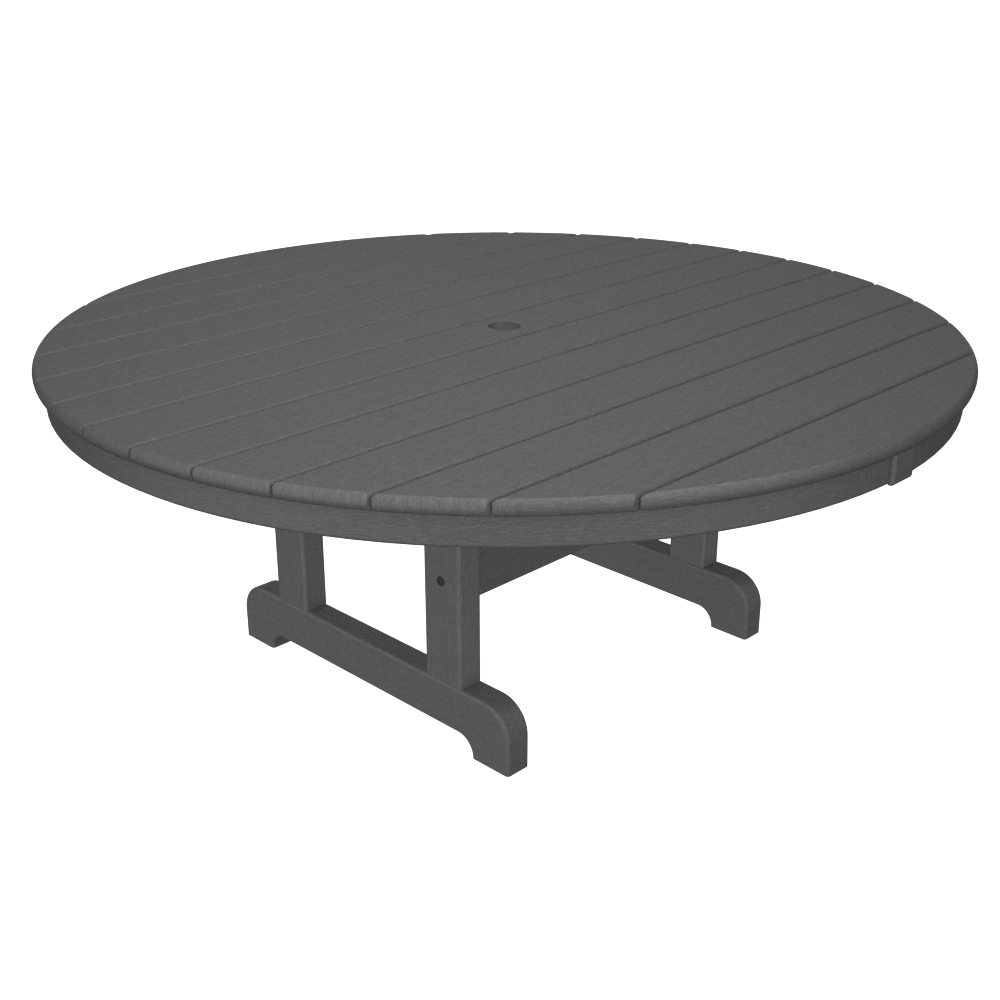 PolyWood 48 Inch Round Conversation Table   RCT248 ...