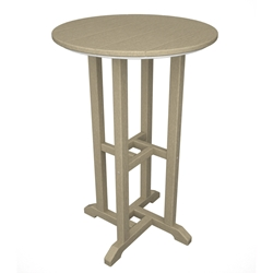 PolyWood Traditional 24 inch round Counter Table - RRT124