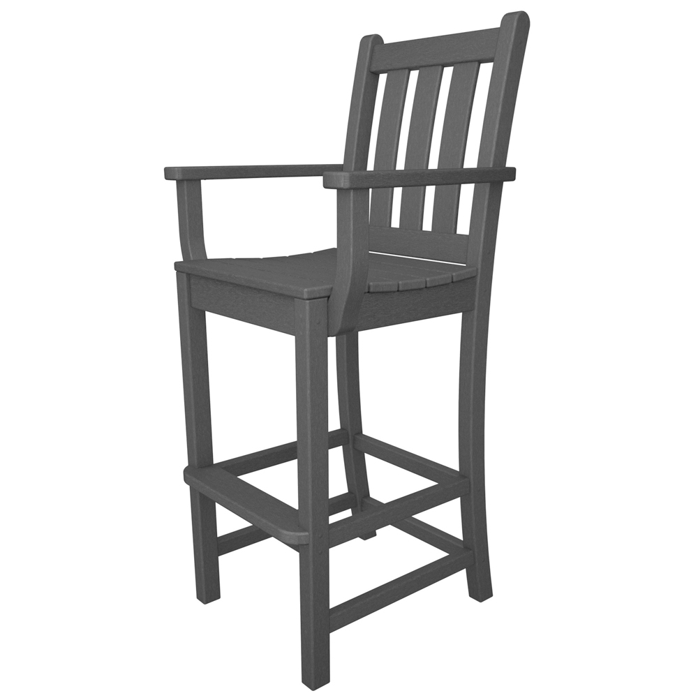 PolyWood Traditional Garden Bar Chair - TGD202