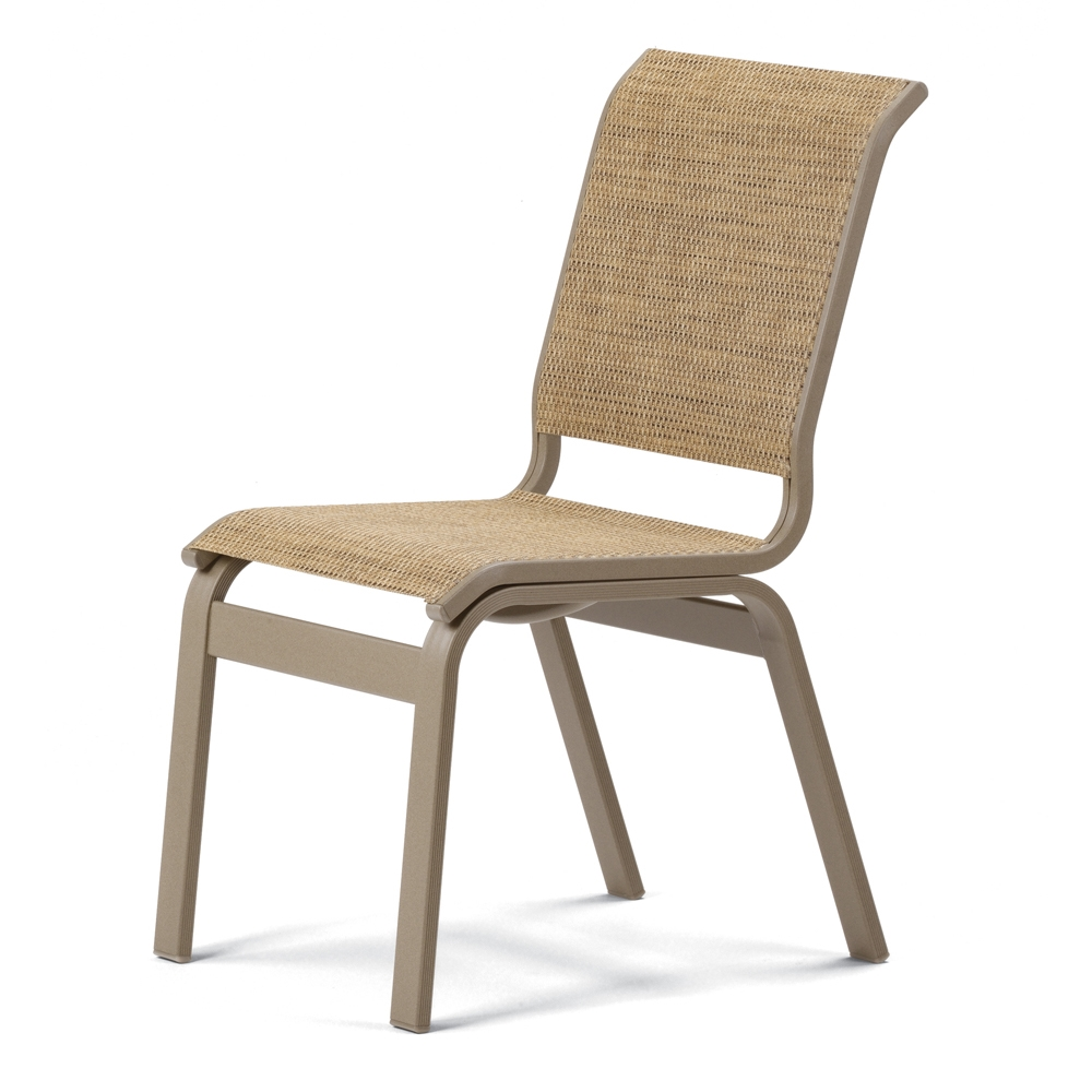 Telescope Casual Aruba Ii Sling Armless Dining Chair 5a10