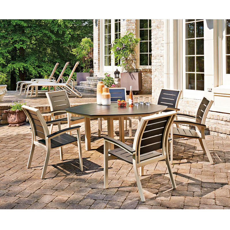 Telescope Casual Bazza MGP Dining Set with Hexagon Dining Table -  TC-BAZZA-SET7 - Telescope Casual Furniture Telescope Outdoor Furniture