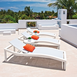 Modern Outdoor Chaise Lounge Sets