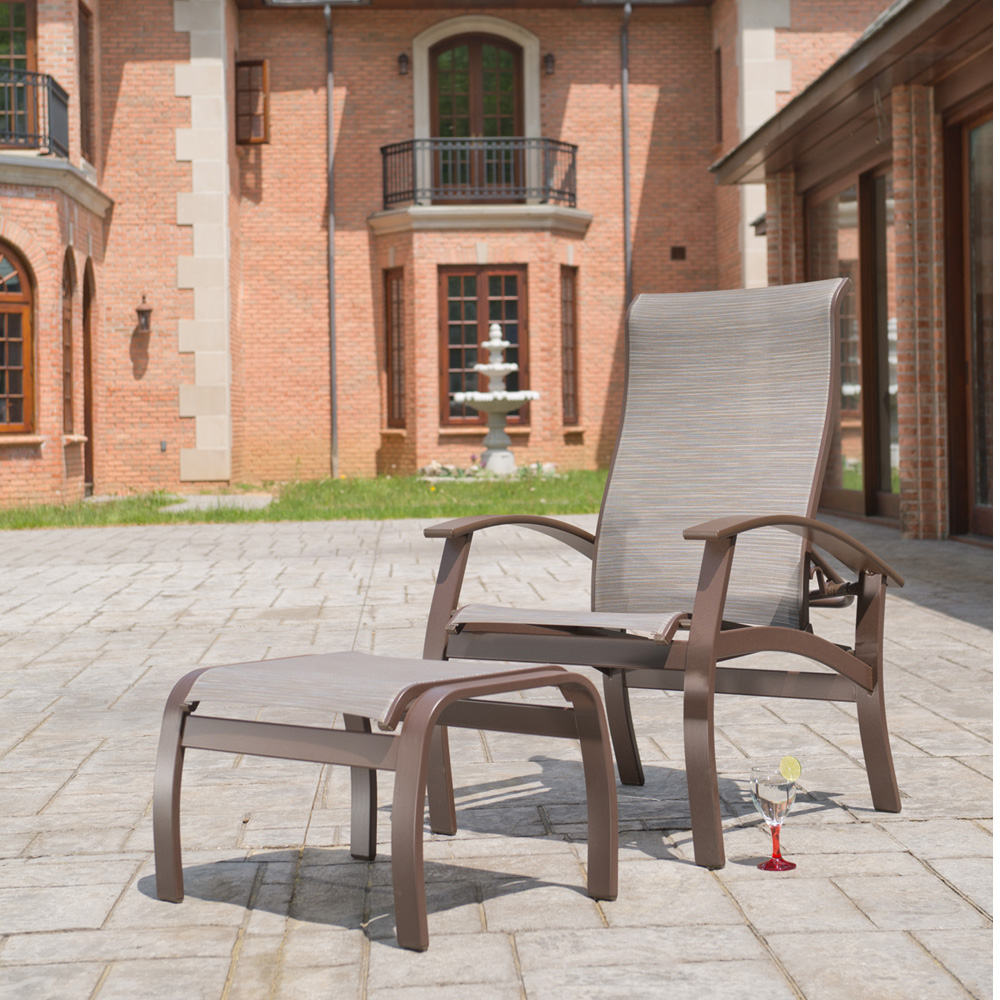 Telescope Casual Belle Isle Sling Hidden Motion Chat Chair