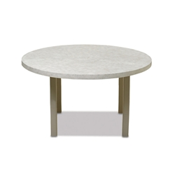"Telescope Casual Elements 60"" Round Balcony Table with Hole - TE70-3810"
